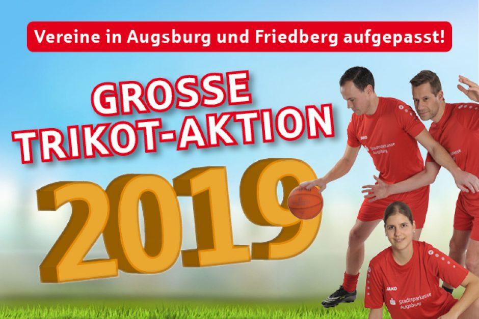Trikotaktion der Stadtsparkasse Augsburg geht in die nächste Runde