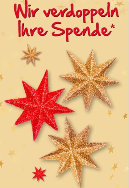 Spendenaufruf zur Weihnachtsspendenaktion des HAUS DER STIFTER.
