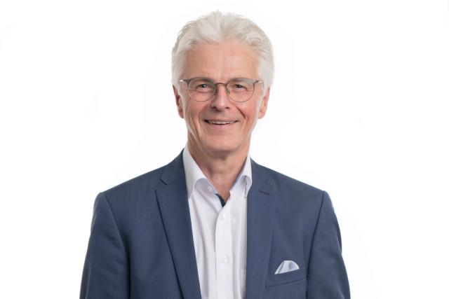 Rolf Settelmeier, der Vorstandsvorsitzende der Stadtsparkasse Augsburg.