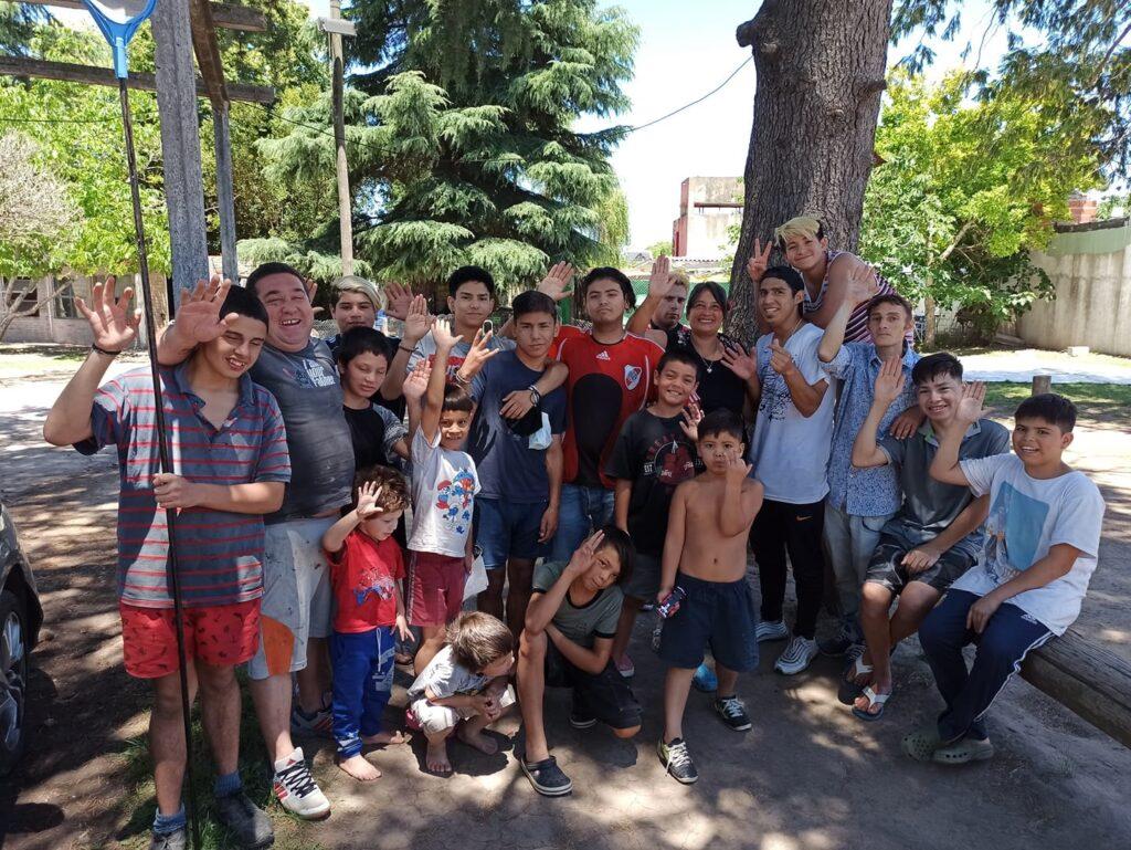 """Die Jungs von """"Casa Teresa"""" in Argentinien"""